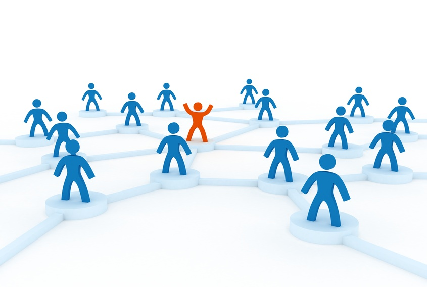 Network with leader