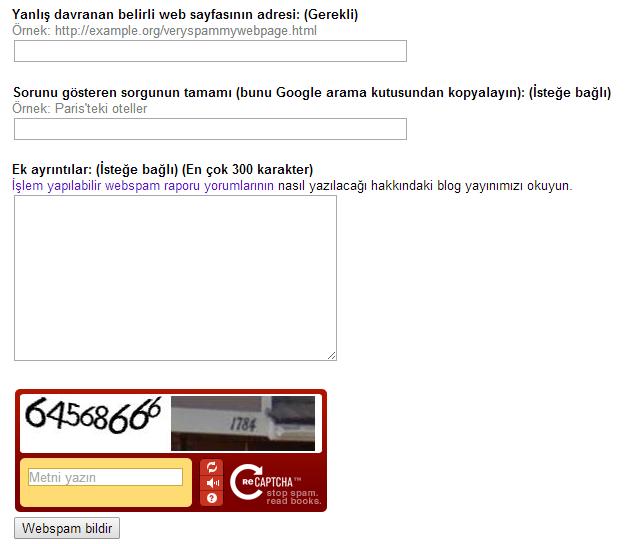 web-spam-bildir
