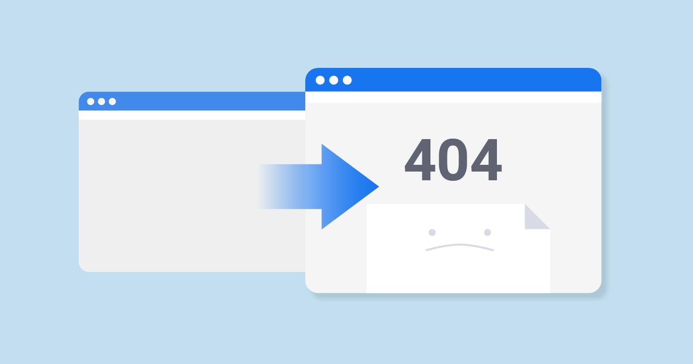 bozuk bağlantılar 404