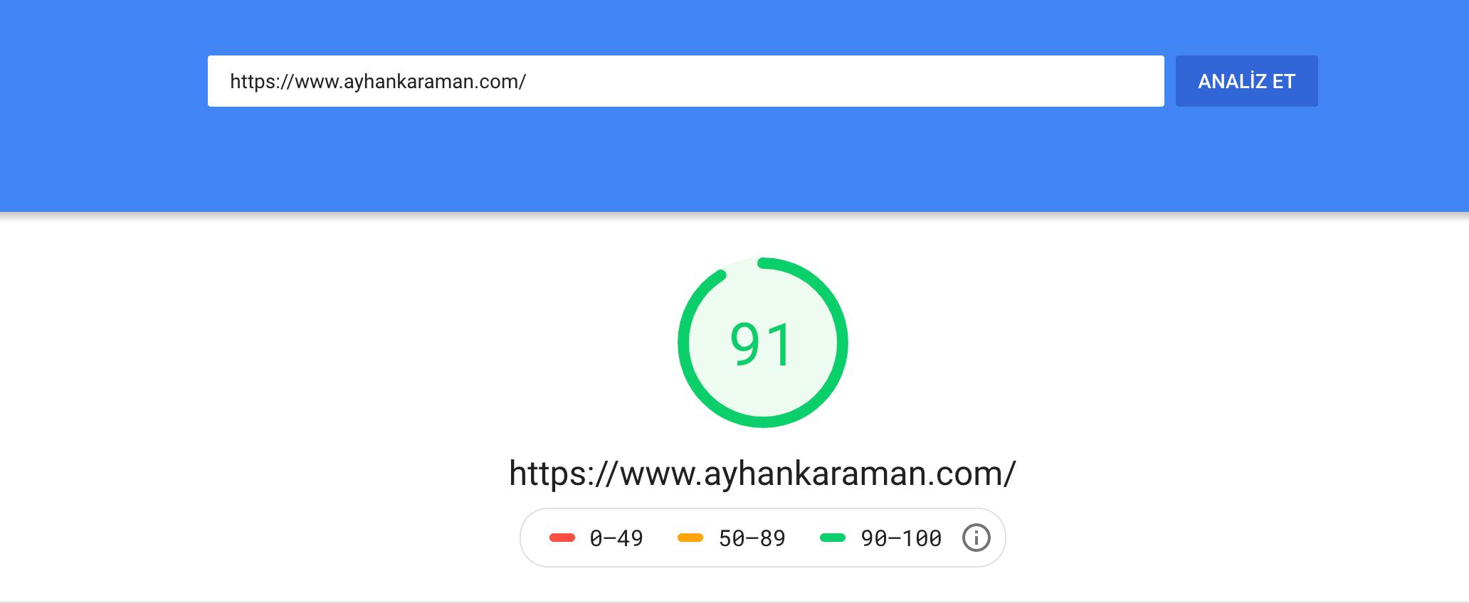 Site Hızı Ayhan Karaman