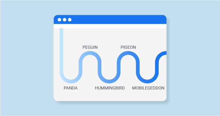 Google algoritma güncellemesine takılmak