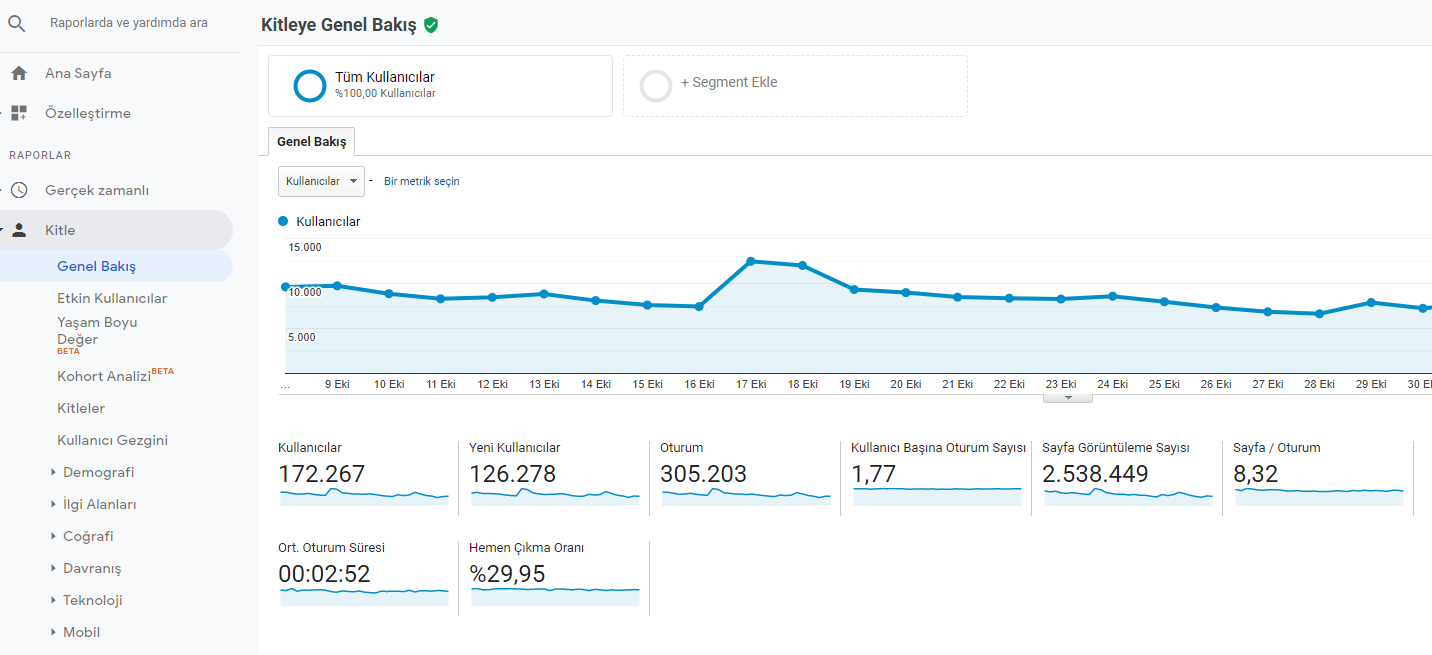 audience overview analytics